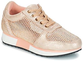 Elue par nous EPUISE women's Shoes (Trainers) in Pink