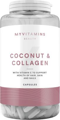 Myvitamins Coconut & Collagen Capsules - 60Capsules
