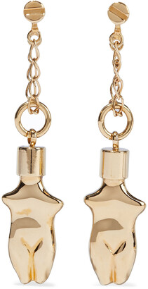 Chloé Arizona Gold-tone Hoop Earrings