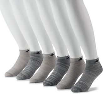 adidas Men's 6-pack climalite Superlite Low-Cut Socks
