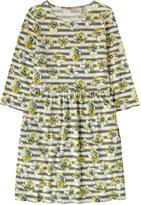 Cath Kidston Anemone Stripe 3/4 Sleeve Jersey Dress