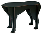 Sultan Black Dog Stool