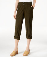 Style&Co. Style & Co. Petite Convertible Cargo Pants, Only at Macy's