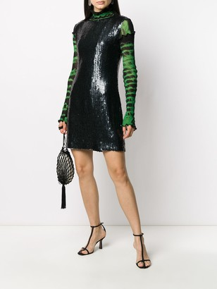 2007 Sequinned Fitted Dress