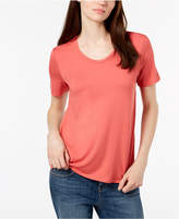 Eileen Fisher Soft V-Neck T-Shirt, Regular & Petite