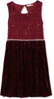 Speechless Lace-Bodice Dress, Big Girls (7-16)