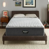 """Simmons 13.75"""" Extra Firm Innerspring Mattress and Box Spring Mattress Size: Twin, Box Spring Height: Low Profile"""