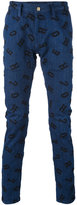 House of Holland Lettering Luke jeans - men - Cotton/Polyester/Spandex/Elastane - 28