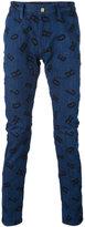 House of Holland Lettering Luke jeans - men - Cotton/Polyester/Spandex/Elastane - 28