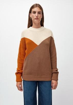 Armedangels Tricolor Organic Cotton Sweater Antonellaa - M / multicolore