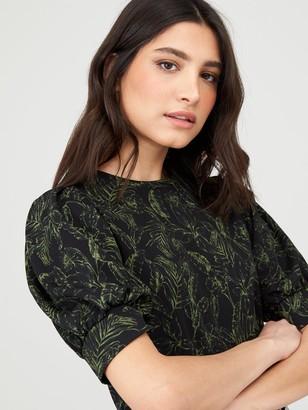 Very Puff Sleeve T-Shirt - Print