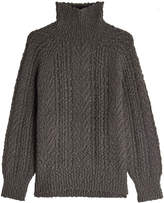 Vince Turtleneck Pullover with Wool and Cashmere