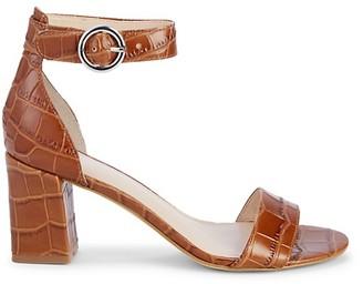 Marc Fisher Karlee Leather Heeled Sandals
