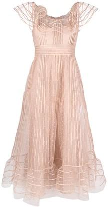 RED Valentino Polka Dot Tulle Dress