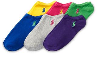 Ralph Lauren No-Show Sock 6-Pack