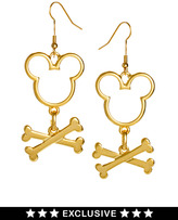 Gogo Philip Disney Exclusive To ASOS Crossbones Mickey Mouse Earrings