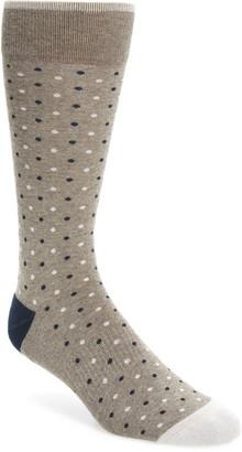 Nordstrom Mini Dot Cushion Foot Socks