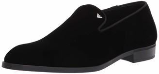 Emporio Armani Men's Velvet Slip on Loafer