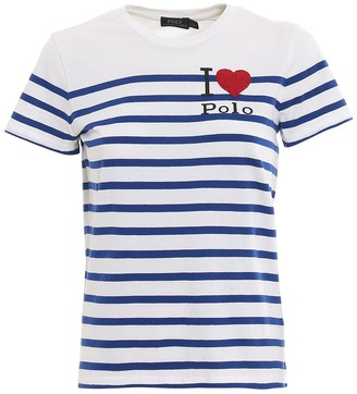 Polo Ralph Lauren I Love Polo Striped T-Shirt