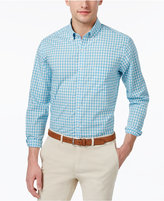 Club Room Men's Cotton Gingham Shirt, Only at Macy's