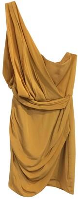 Zimmermann Yellow Silk Dresses
