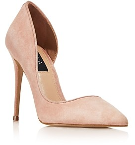 Aqua Women's Dion Half d'Orsay High-Heel Pumps - 100% Exclusive