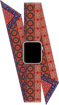 Wristpop Orange Crush 38mm/40mm Apple Watch Scarf Watch Band