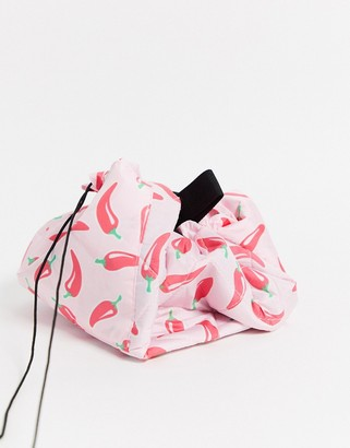 Flat Lay Company The Flat Lay Co. Drawstring Makeup Bag - Chilis