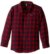 Volcom Fulton Flannel Long Sleeve Shirt (Toddler/Little Kids)