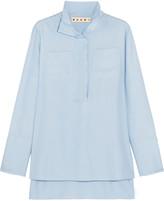 Marni Silk-cady blouse