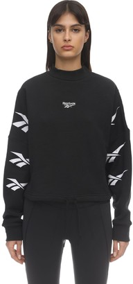 Reebok Classics Cropped Cotton Sweatshirt