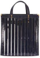 Anya Hindmarch Multi Stripes Patent Tote Bag