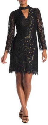 Trina Turk Central Lace Knit Dress