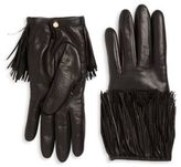 Portolano Fringed Leather Gloves