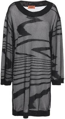 Missoni Open-knit Mini Dress