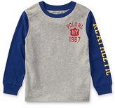 Ralph Lauren 2-7 Cotton Jersey Graphic T-Shirt