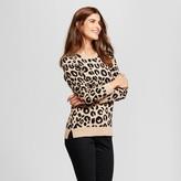 Merona Women's Crewneck Animal Sweater