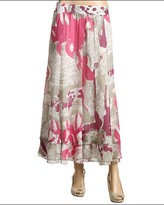 Nic+Zoe - Beach Grass Batik Long Skirt (Multi)