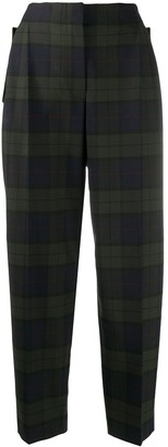 Paul Smith Checked Straight-Leg Trousers