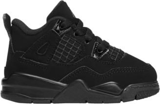 Jordan Retro 4 Basketball Shoes - Black / Light Graphite
