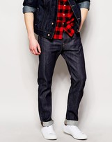 Edwin Jeans ED80 Slim Tapered Fit Compact Indigo Unwashed