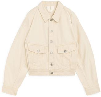 Arket Cropped Denim Jacket