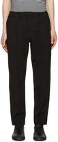 Alexander Wang Black Pin-tuck Trousers