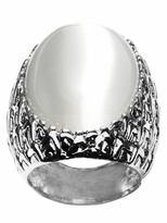 Iced gem ring