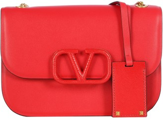 Valentino Mini V Lock Shoulder Bag