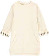 Sessun Wool Saguay Bouclà Dress with Embroidered Detailing