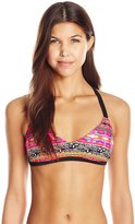 Hobie Women's What's Knot To Like Bralette Bikini Top