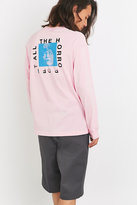 Division Of Labor Horror Pink Long Sleeve T-shirt