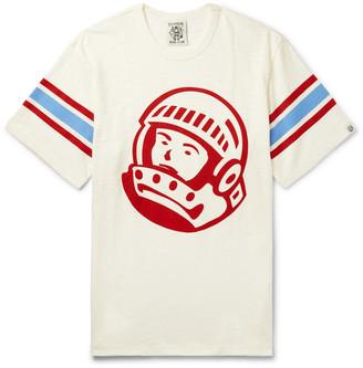 Billionaire Boys Club Striped Logo-Print Cotton-Jersey T-Shirt