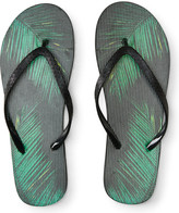 Palm Leaves Flip-Flop